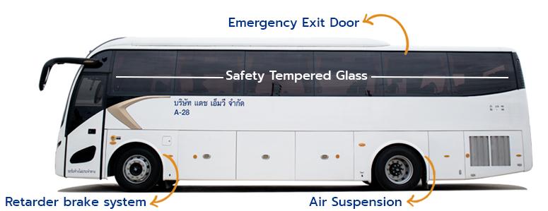 ระบบความปลอดภัยรถบัส