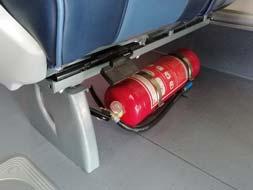 ถังดับเพลิงบนรถบัส