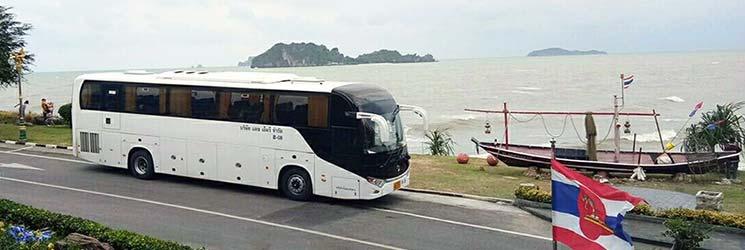 รถบัสสำหรับเที่ยวประจำปี